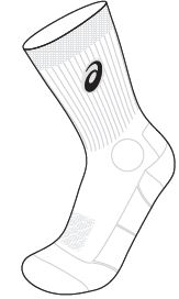 Asics Volley Sock - Lentopallosukka